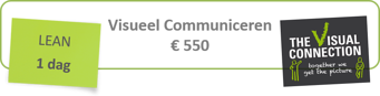 Banner Visueel Communiceren in Lean