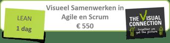 Banner Visueel Samenwerken in Agile en Scrum