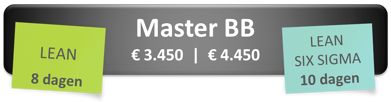 Master Black Belt opleiding