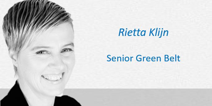 Rietta Klijn Lean Six Sigma Partners