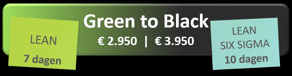 Green belt to black belt